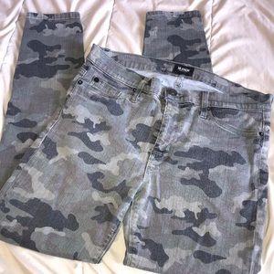 Hudson Camo print jeans
